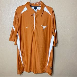 Nike Texas Longhorns dri fit short sleeve shirt